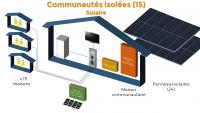 Solution solaire (15 maisons)
